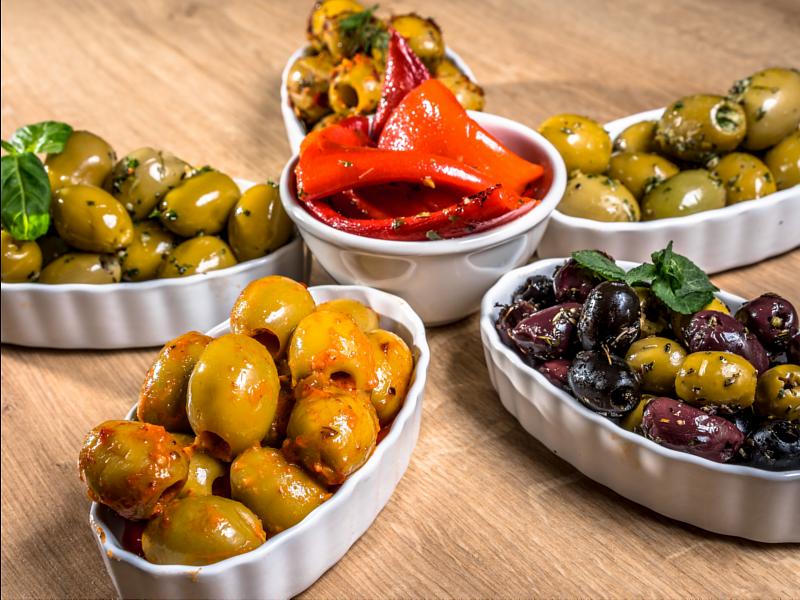 Anti-pasti-oliven